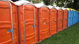 The app AirPnP seeks to provide an alternative to porta-potties and public urination at Mardi Gras.