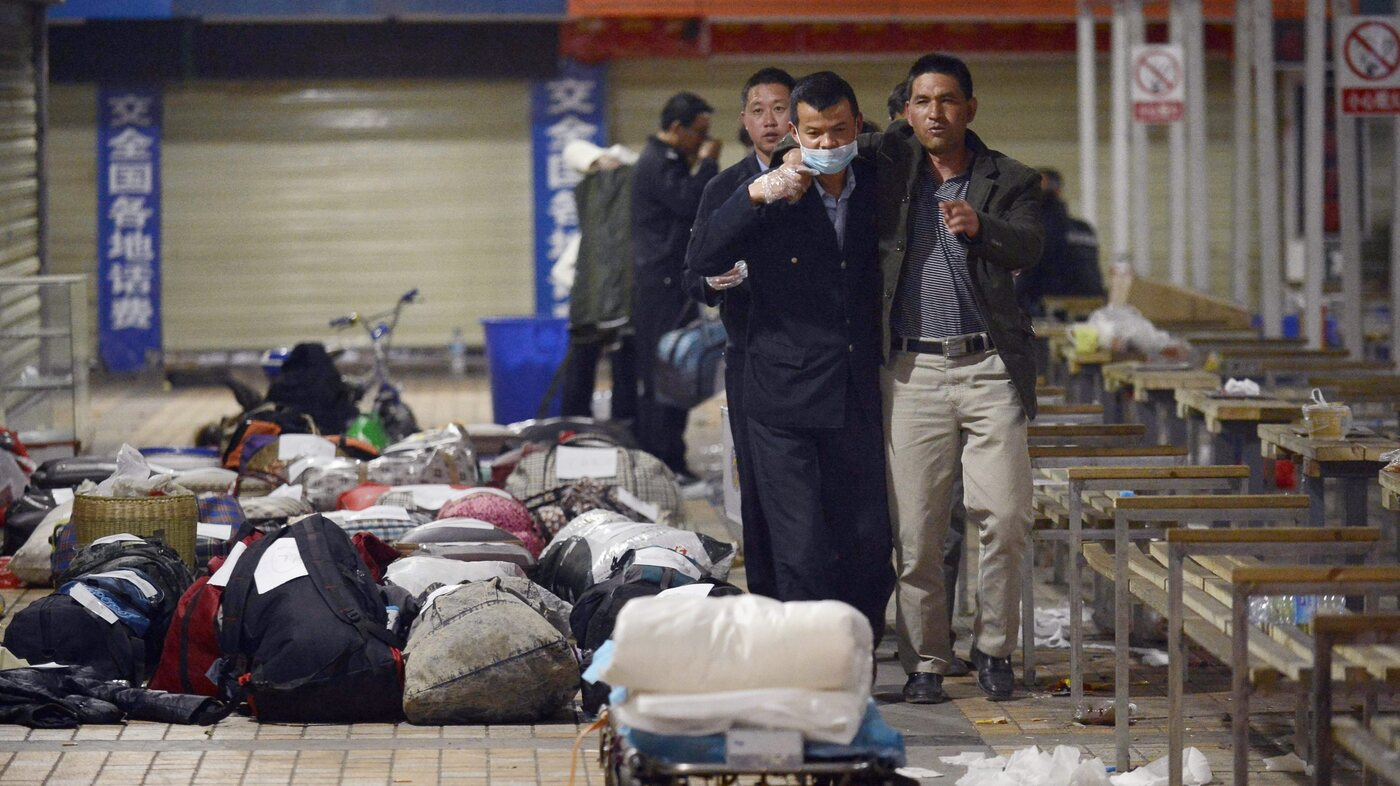 China Blames Muslim Separatists For Deadly Knife Attack