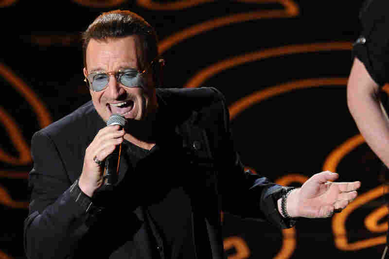 "Bono led U2 through a read of their song ""Ordinary Love,"" from Mandela: Long Walk to Freedom; it was nominated for a Best Original Song statue."