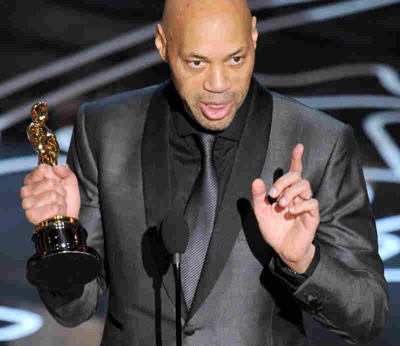 12 Years a Slave screenwriter John Ridley — also an NPR commentator — took home an Oscar for Best Adapted Screenplay.