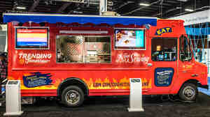 Watson's culinary concoctions were served up from an IBM food truck at a tech conference in Las Vegas last week. Next stop: Austin.