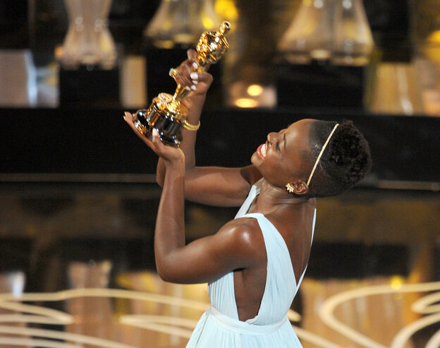 At Sunday's Oscar ceremony, the feel-good win of the night came when 12 Years a Slave star Lupita Nyong'o took home the supporting-actress trophy.