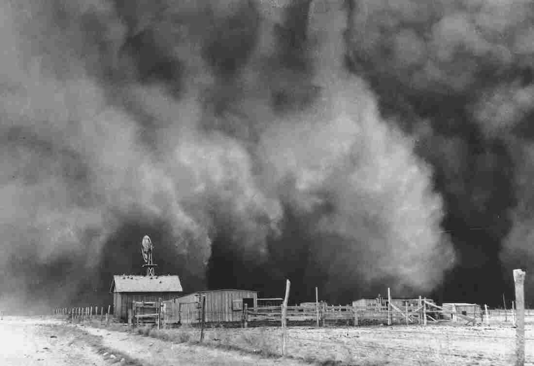 The Grapes Of Wrath opens in Dust Bowl Oklahoma.