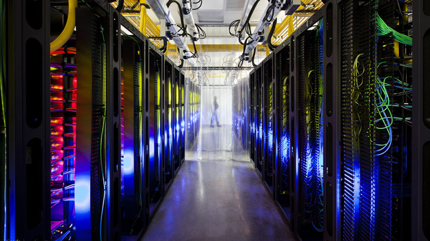 A Google data center in Council Bluffs, Iowa. Even online privacy advocates acknowledge that keeping personal data out of the hands of third parties is virtually impossible today. (AP)