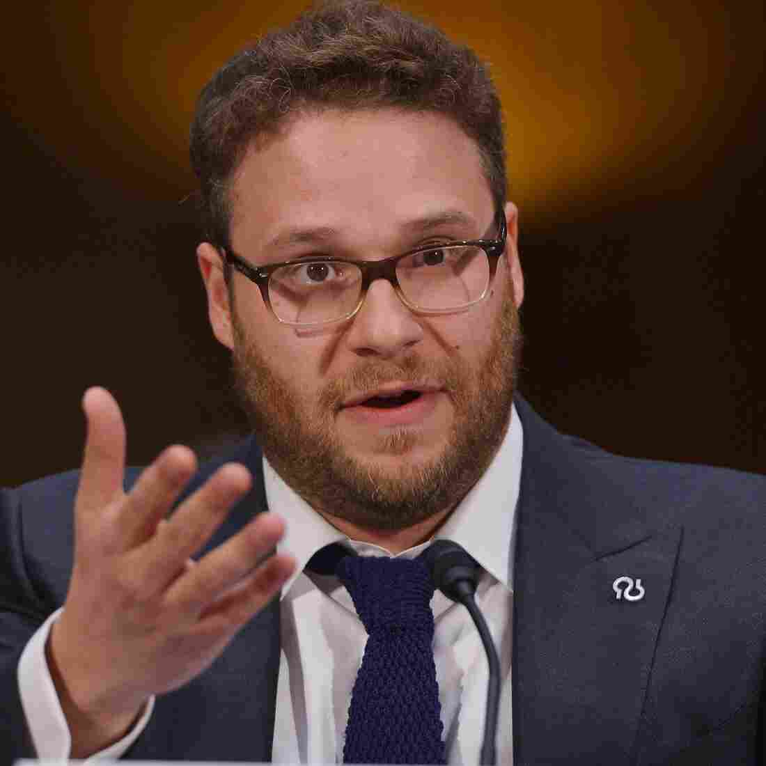 Actor and Alzheimer's advocate Seth Rogen testifies before the Senate Committee on Appropriations about the disease's damaging effects on patients and their loved ones.