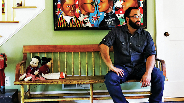 Kevin Young's 2012 essay collection The Grey Album: On The Blackness Of Blackness was a finalist for the National Book Critics Circle Award. (CPi)