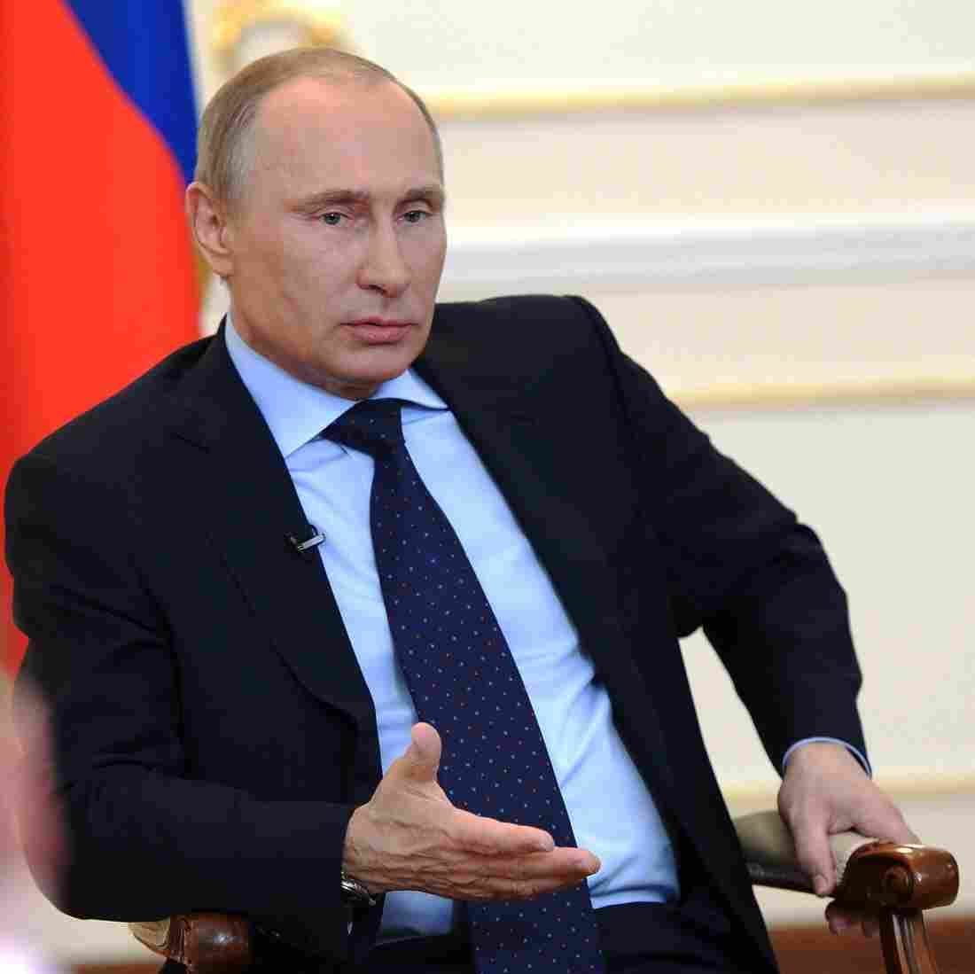 Putin Says Those Aren't Russian Forces In Crimea