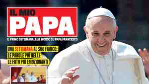 Publisher Mondadori provided this image of the first issue of Il Mio Papa (My Pope) on  Tuesday, a day before it was slated to hit Italian newsstands.