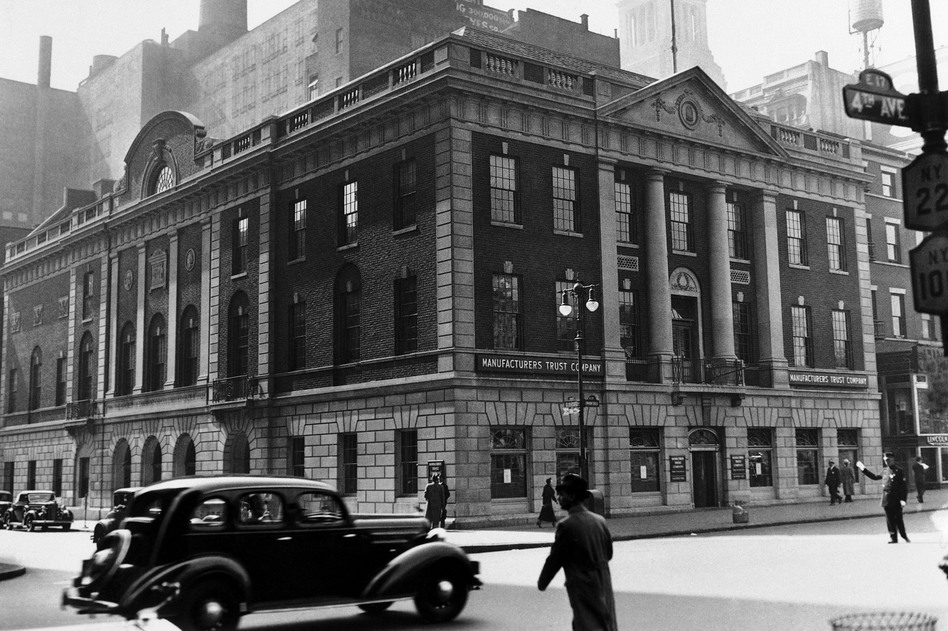 Seen here in 1935, the building that housed Manhattan's Democratic Party, known as Tammany Hall, still stands today. (AP)