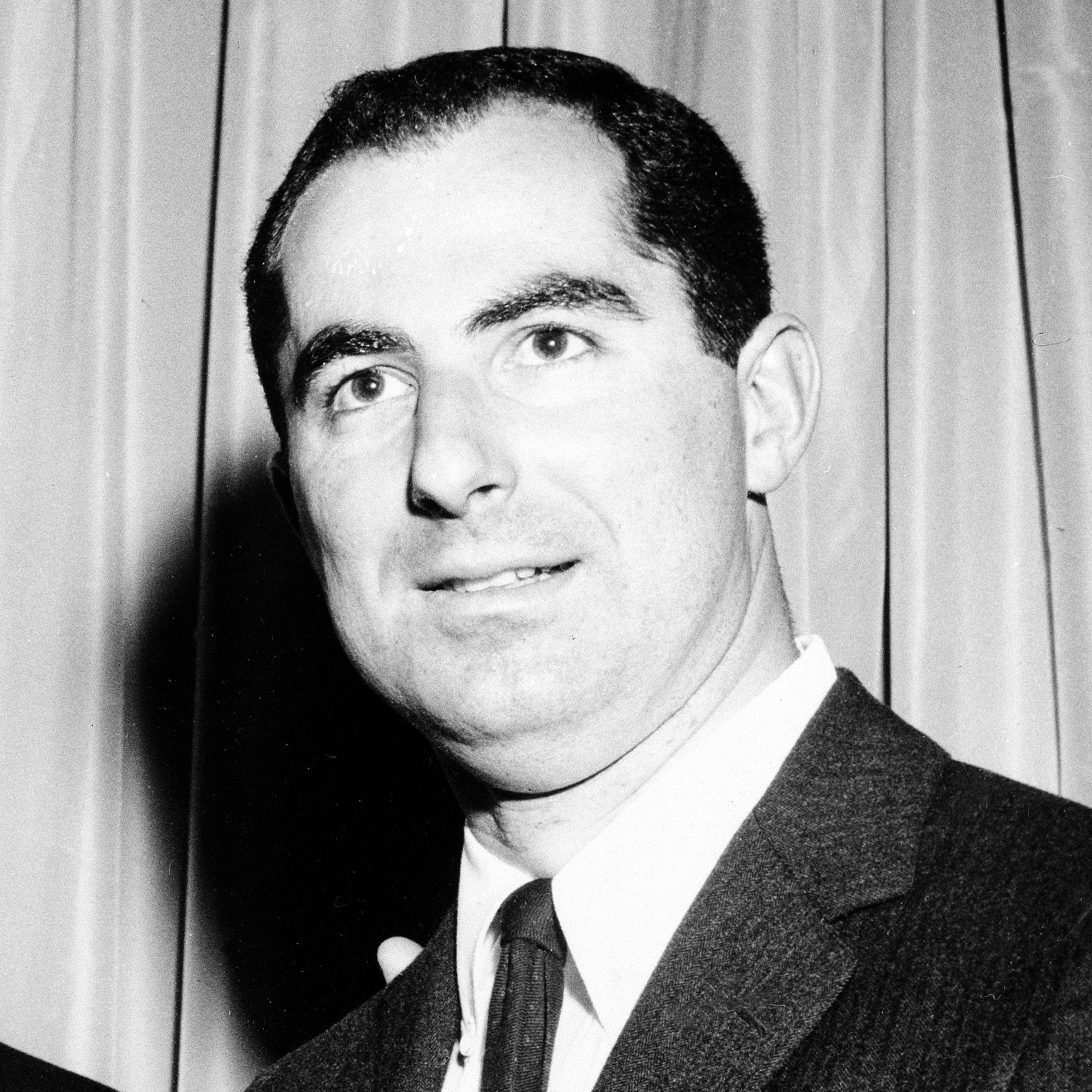 Philip Roth, shown here in 1960, was an up-and-coming young writer when he recorded a story for the Schwartzes.