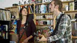 Lowland Hum performs a Tiny Desk concert in February 2014.