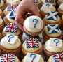 A bakery in Edinburgh recently launched an independence referendum poll using Yes, No and Undecided cupcakes.
