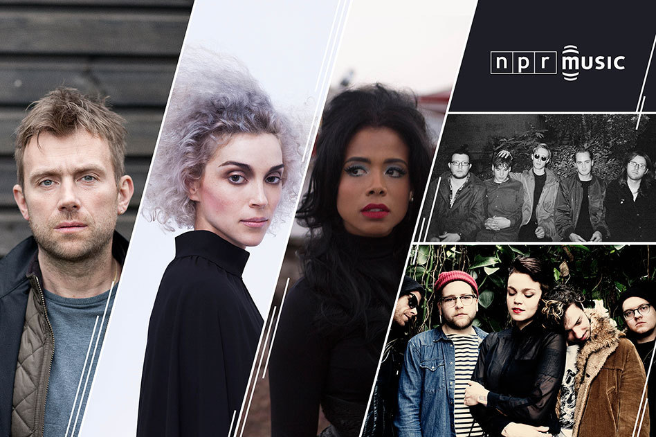 Damon Albarn, St. Vincent, Kelis, Eagulls and Perfect Pussy will perform at NPR Music's SXSW showcase.