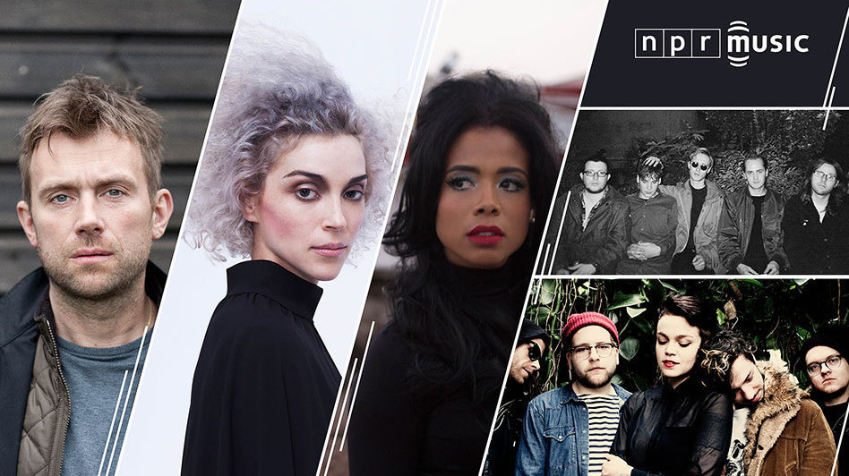 Damon Albarn, St. Vincent, Kelis, Eagulls and Perfect Pussy performed at NPR Music's SXSW showcase.