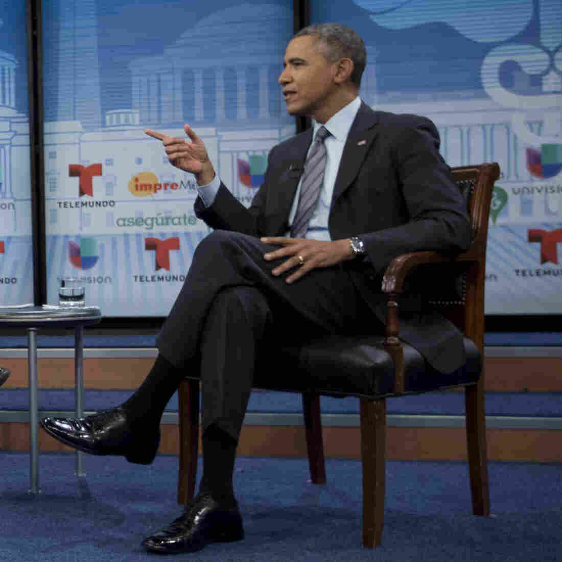 Obama Pitches Health Care Law To Latinos In Bid To Boost Enrollment