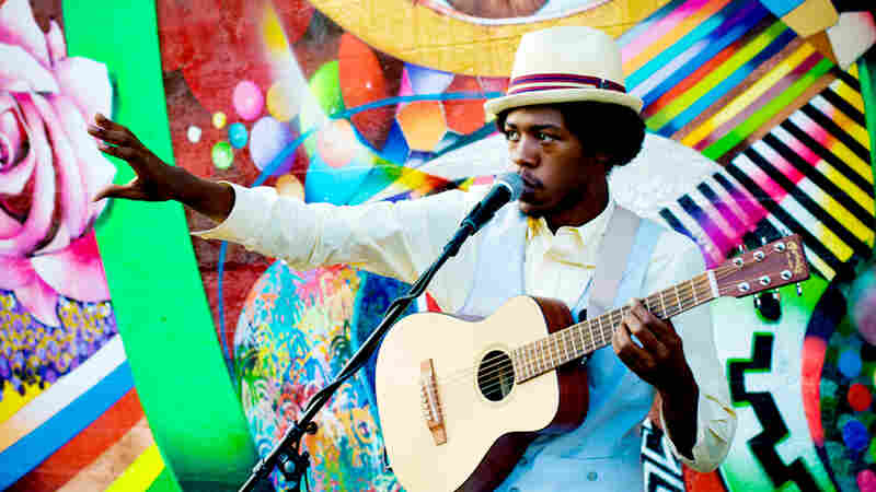 Christylez Bacon's new album is Hip Hop Unplugged.