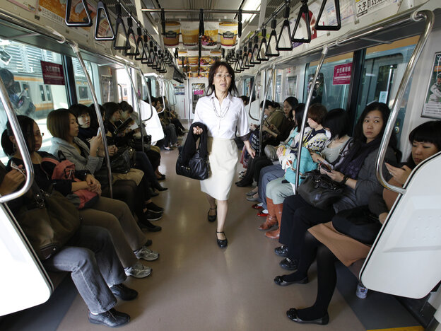 The groping of women and snapping of upskirt photos is a problem on mass transit systems around the world. East Japan Railway is among those systems that have created women-