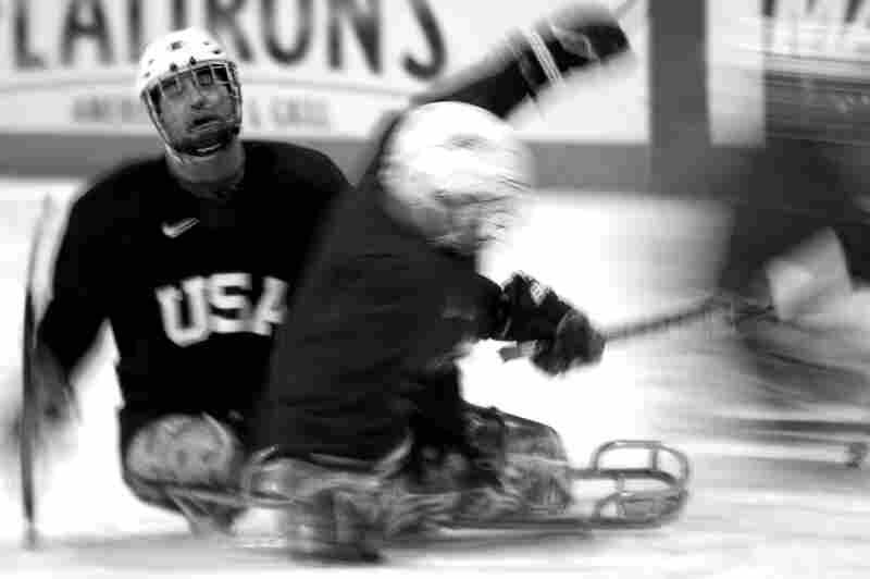 The U.S. team took gold in the Vancouver Paralympics four years ago. They're hoping to defend the title in 2014.