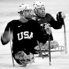 Former Marine Josh Sweeney lost both of his legs to a bomb in Afghanistan in 2009. He's competing with the U.S. Men's Sled Hockey team at the Paralympics in Sochi.