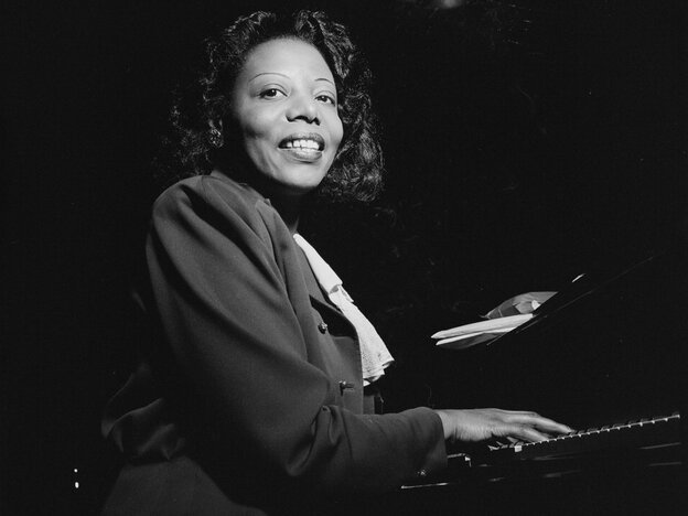Mary Lou Williams at the CBS studios in 1947.