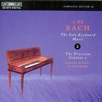 C.P.E. Bach's keyboard sonatas.