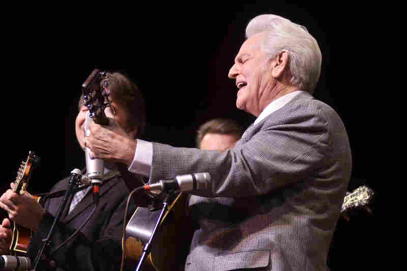 Del McCoury first appeared on Mountain Stage in 1989.
