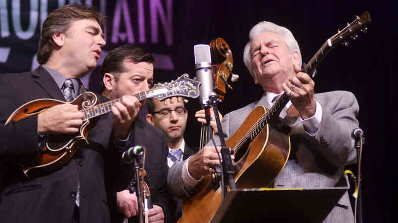 Del McCoury Band.