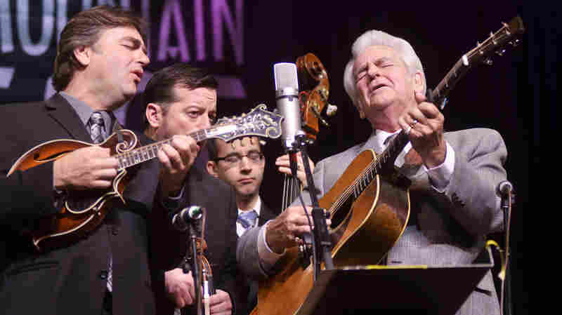 Del McCoury Band On Mountain Stage
