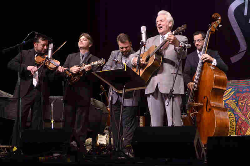 "Del McCoury Band performed a reworking of Richard Thompson's ""1952 Vincent Black Lightning"", one of their signature tunes."