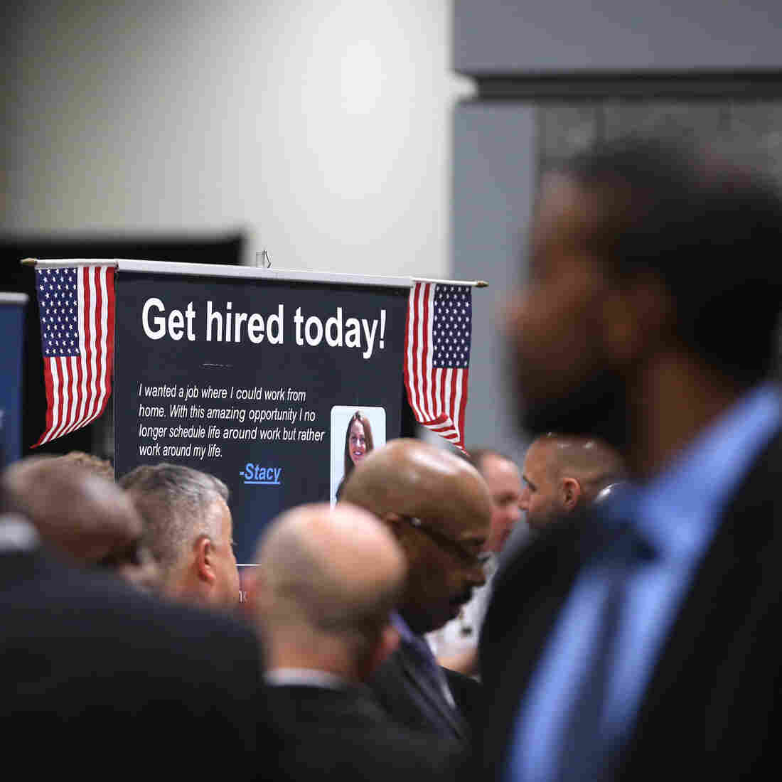 Jobless Rate Ticks Up, But Job Growth Is Better Than Expected