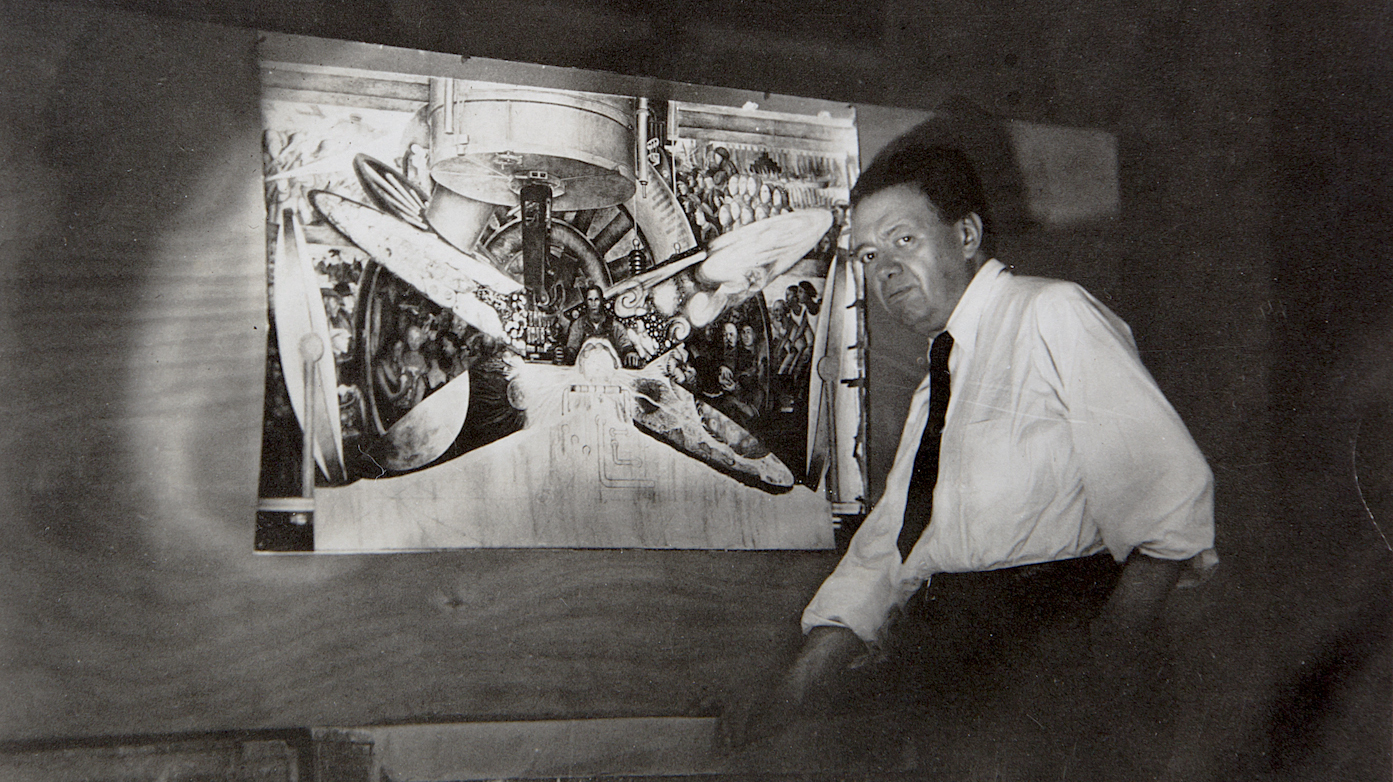 Destroyed by rockefellers diego rivera mural trespassed for Diego rivera lenin mural