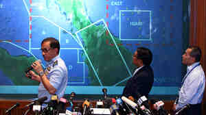 Uncertainty is the order of the day as officials in Kuala Lumpur brief the media on a missing Malaysia Airlines jet.