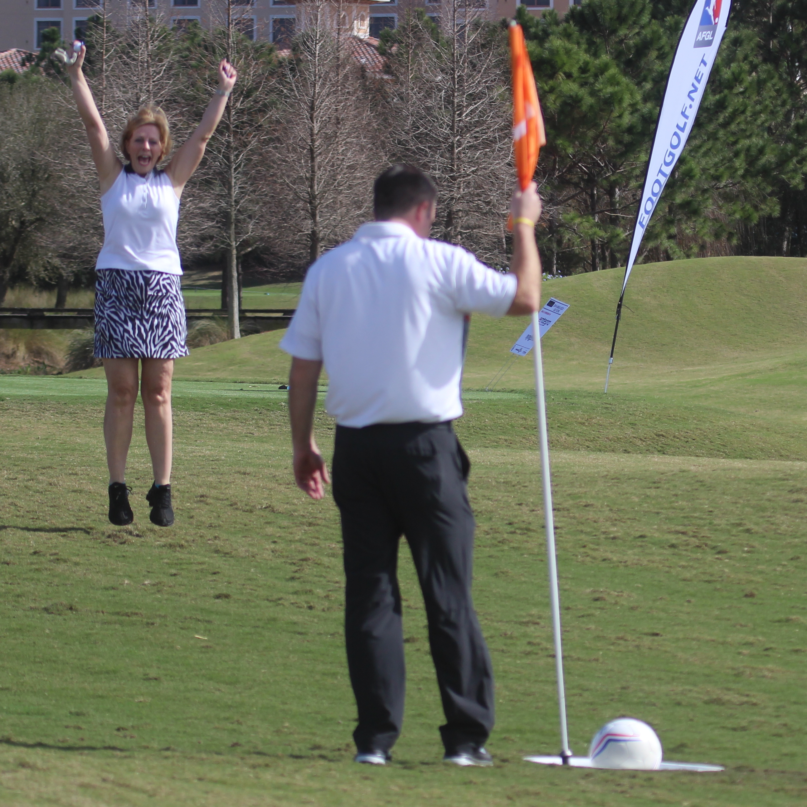 "FootGolfers don't yell ""Fore!""; they shout ""Goal!"""