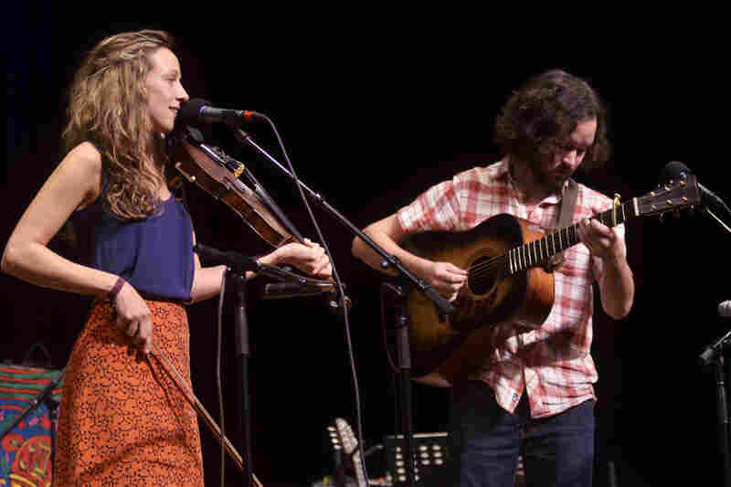 The duo first met a jam session near Chapel Hill, NC, where they discovered a shared love of traditional Appalachian music.