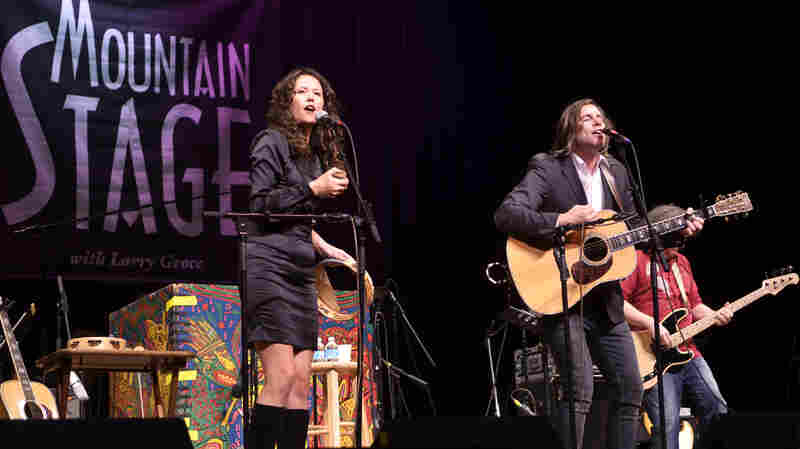 Sarah Lee Guthrie and Johnny Irion On Mountain Stage