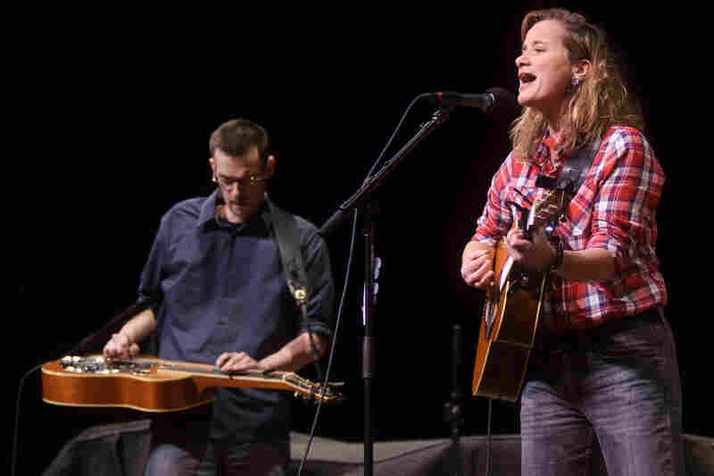 Susan Werner returns for her 8th appearance on Mountain Stage.
