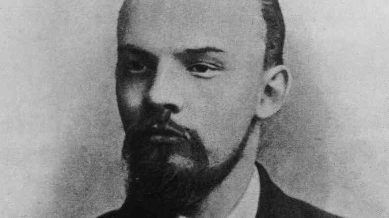 Russian revolutionary and Marxist politician Vladimir Lenin pictured in 1900. In our counterfactual history, his career as the producer of the musical Pins and Needles is only a few years away.