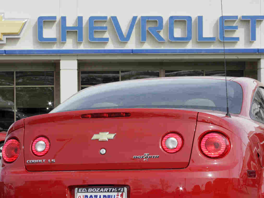 The Chevrolet Cobalt is one of the GM models being recalled for faulty