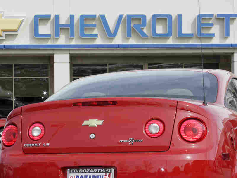 The Chevrolet Cobalt is one of the GM models being recalled for faulty ignition switches.