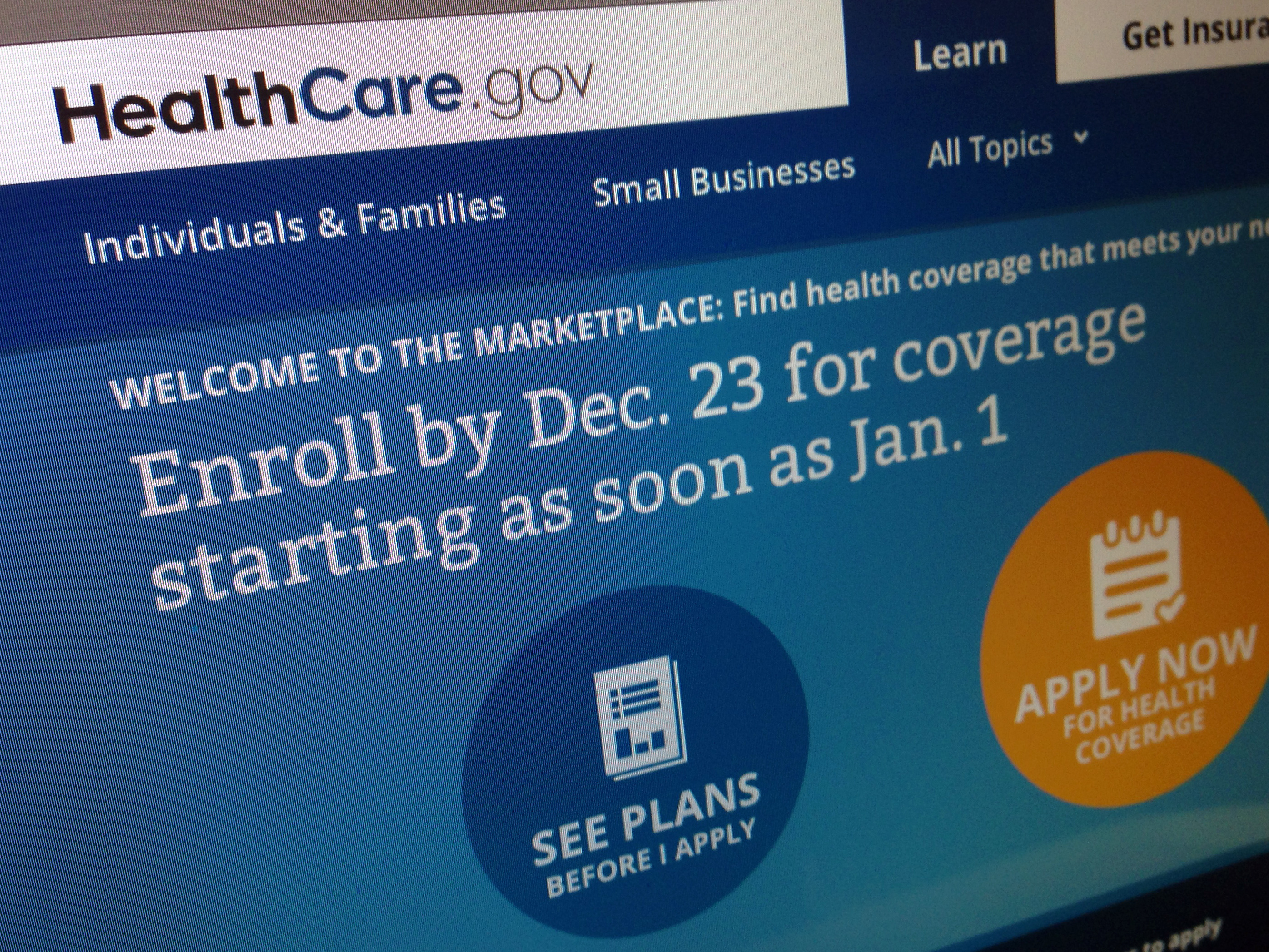 Health Care Enrollments Up, But Still Well Short Of Goal