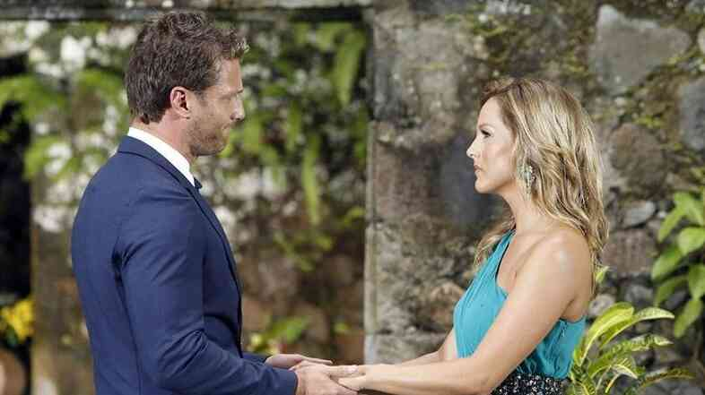 "This is what ""I didn't pick you"" looks like, coming from Bachelor Juan Pablo. Sorry, Clare."
