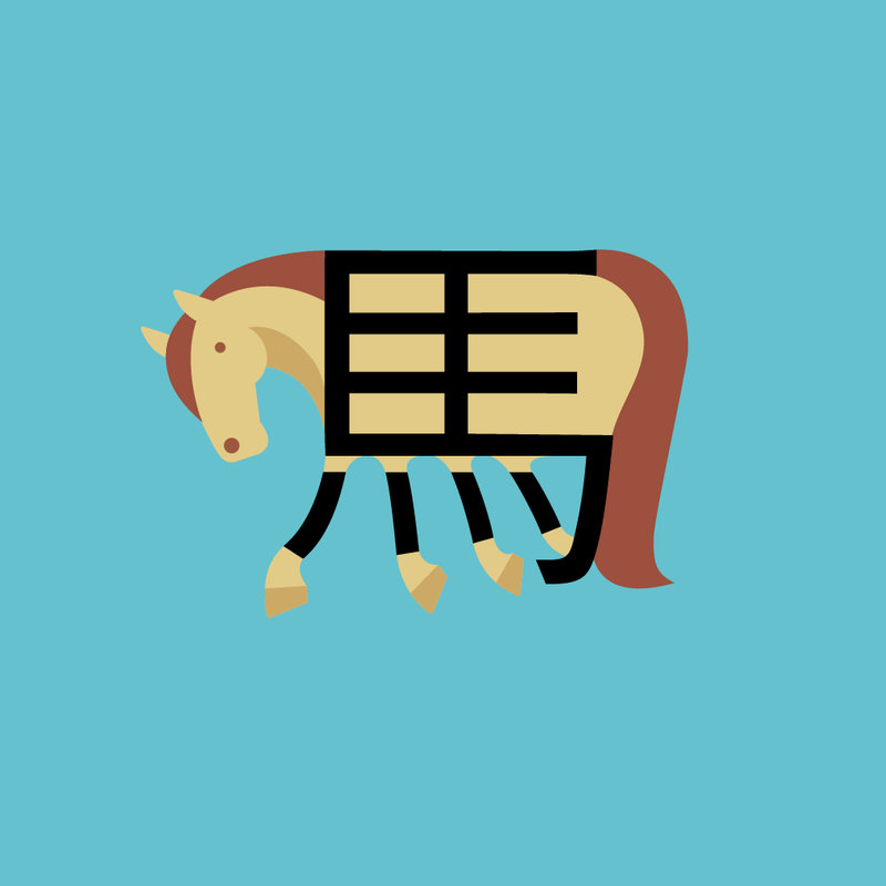 Horse (in traditional Chinese)