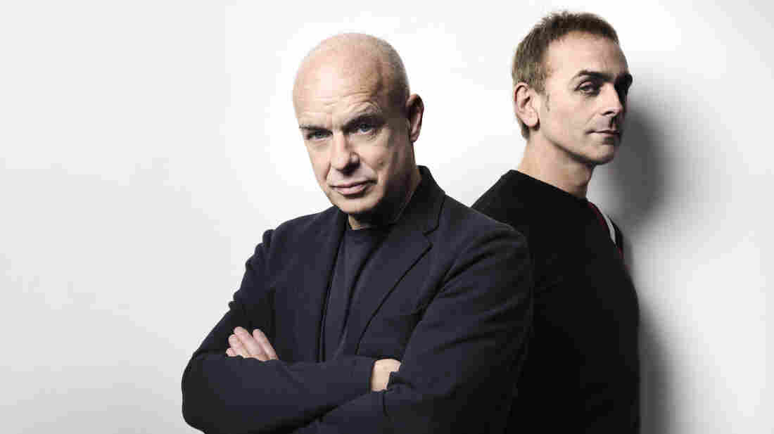 "Brian Eno and Karl Hyde's collaboration ""The Satellites"" is featured on this week's Metropolis mix."