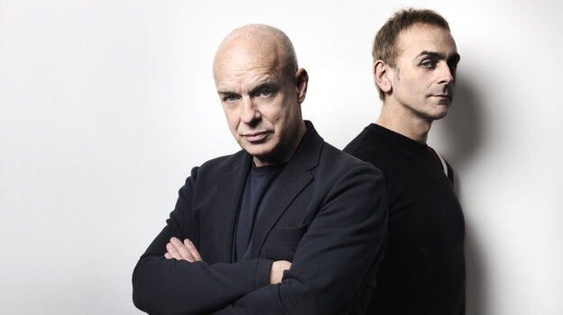 """Brian Eno and Karl Hyde's collaboration """"The Satellites"""" is featured on this week's Metropolis mix."""