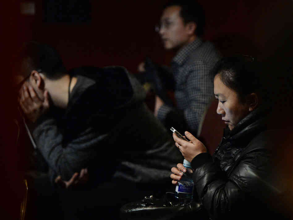 In Beijing, anxious relatives continue to wait for word about the fate of Malaysia Airlines Flight 370. The Beijing-b