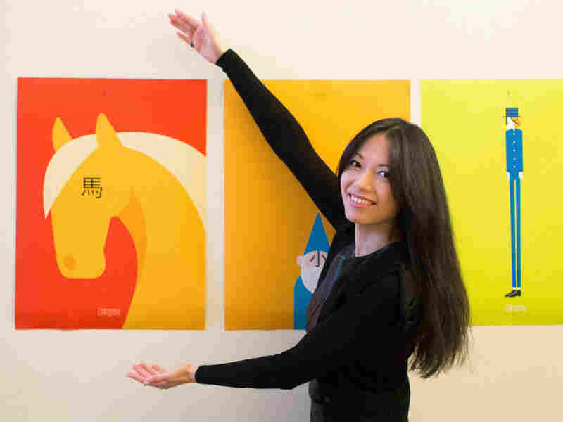 ShaoLan Hsueh worked with illustrators to develop pictograms that help readers learn Chinese characters.
