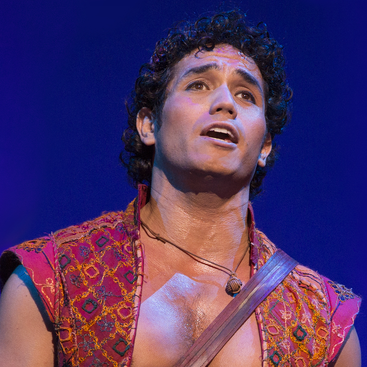 Disney hit it big on Broadway with The Lion King, but The Little Mermaid and Tarzan didn't fare quite so well. Aladdin --�� the Arabian Nights story of a young street urchin, a princess and a big blue genie -- is Disney's latest adaptation attempt.