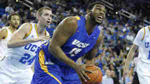 Alan Williams of the University of California, Santa Barbara, has some outstanding stats, but it probably won't be enough to make him Player of the Year.