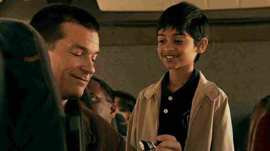 In the central relationship of the brisk comedy Bad Words, Guy Trilby's (Bateman) sour runs up against 10-year-old competitor Chaitanya's (Rohan Chand) sweet.