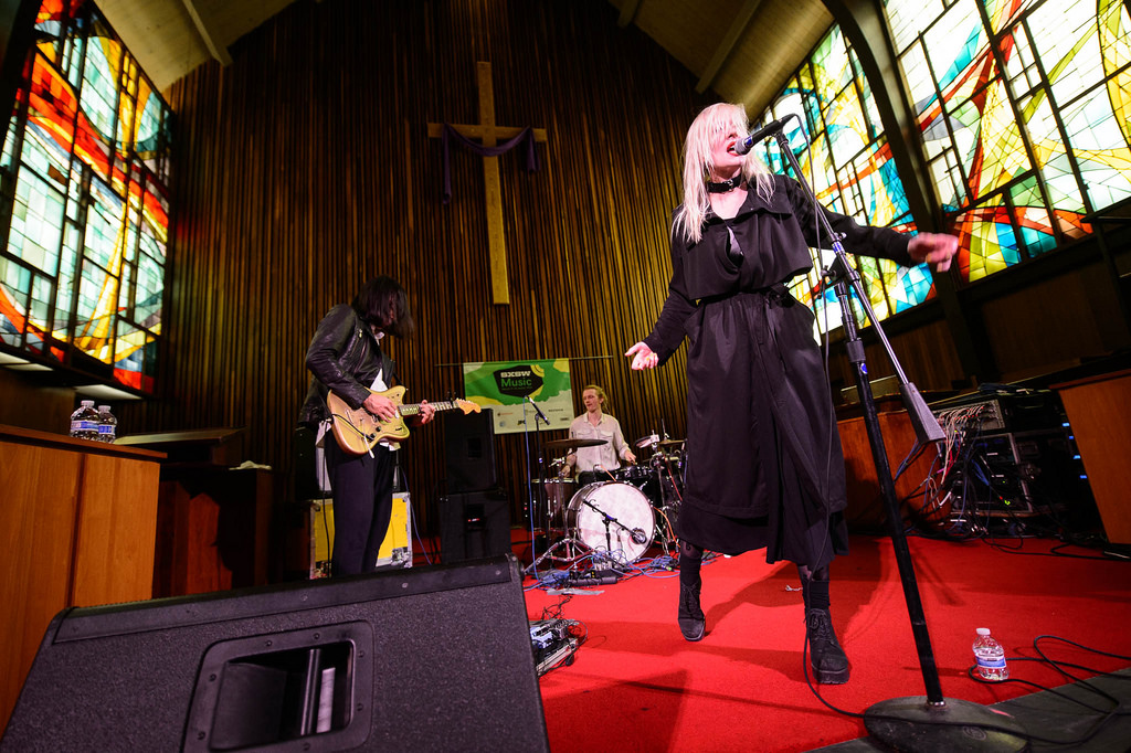 Ballet School's dreamy pop fills the Central Presbyterian Church.